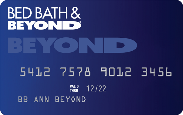Bed Bath & Beyond® Store Credit Card image