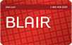 Blair logo card