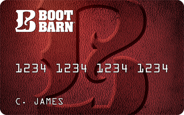 Boot Barn Credit Card image