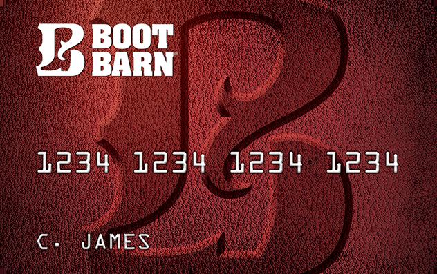 Boot Barn Credit Card image