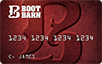 Boot Barn logo card