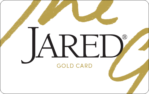 Jared The Galleria Of Jewelry Gold Credit Card image