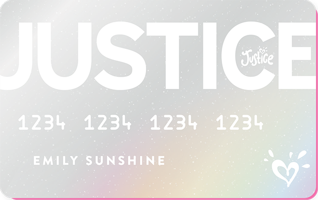 Justice Credit Card image